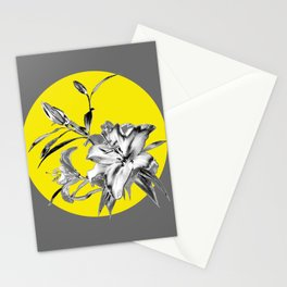 MOON - Pantone Colors of the Year 2021- Ultimate Gray & Illuminating Stationery Cards