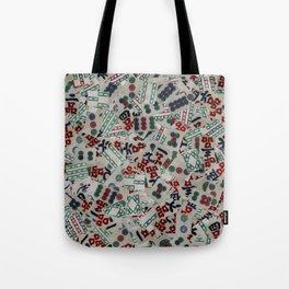 Mahjong Tiles Tote Bag