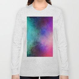 Mystical azure galaxy Long Sleeve T-shirt