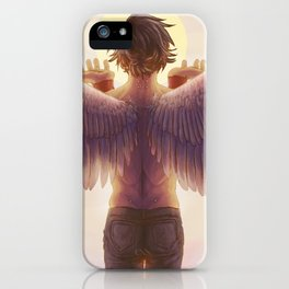Jericho Angel iPhone Case