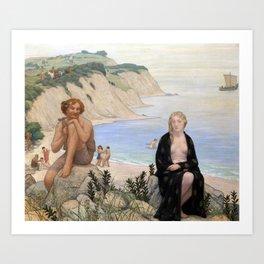 Bryson Burroughs Consolation of Ariadne Art Print