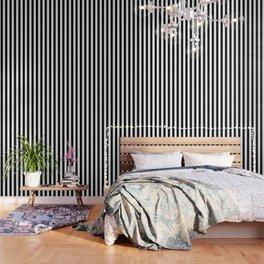Stripes Black And White Wallpaper