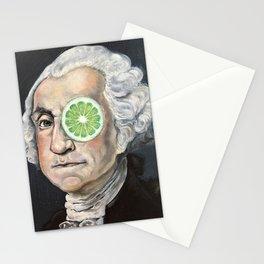 Limeade George Washington Stationery Cards