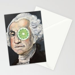 Limeade George Washington Stationery Cards