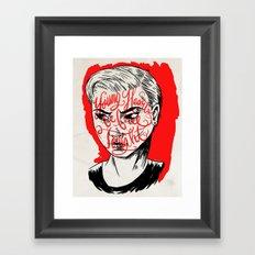 Young Turks Framed Art Print