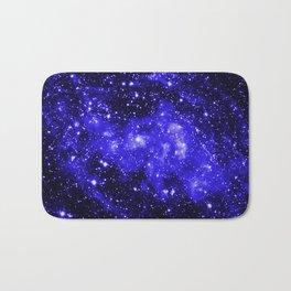 Chandra #1 Blue Bath Mat