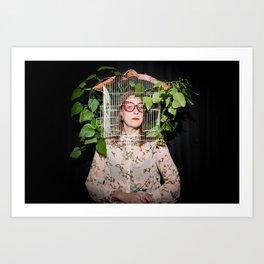Stacie Huckeba - Caged But Free Art Print