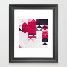ryspbyrry xhyrrd Framed Art Print