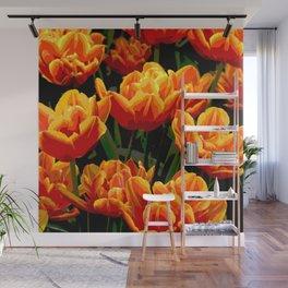 Orange tulips II Wall Mural