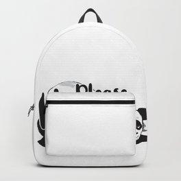 Hug me hugging love panda gift Backpack