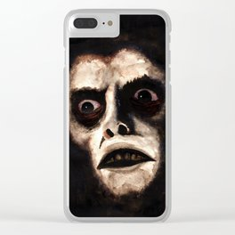 Captain Howdy Clear iPhone Case