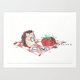 Picnic Pests Art Print