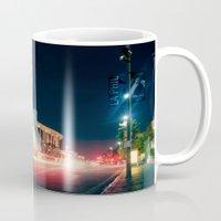 concert Mugs featuring Walt Disney Concert Hall by Enkel Dika