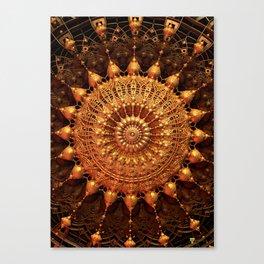Sun Spur - Raw 3D Fractal Canvas Print
