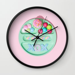 Treat Yourself Wall Clock