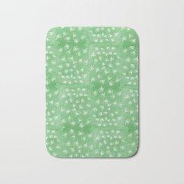flakes of Pohutukawa- green Bath Mat