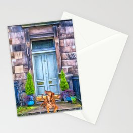 Unit 16 Apartment Living by Liane Wright Stationery Cards