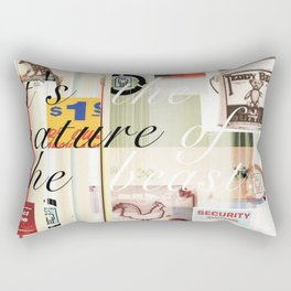Pop Culture Rectangular Pillow