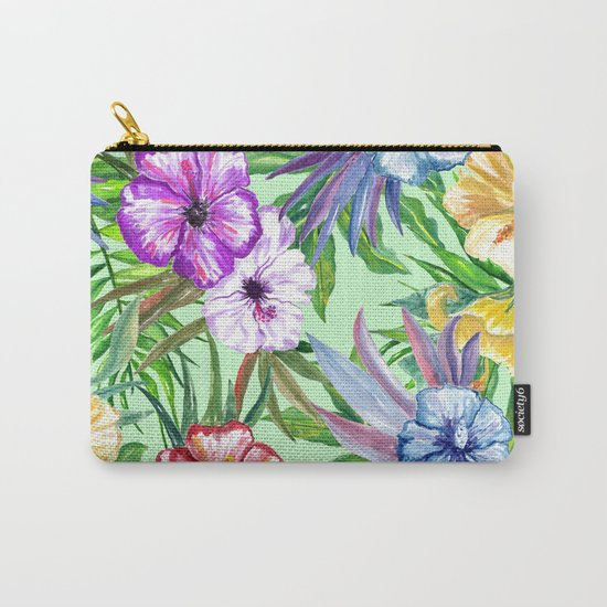 Tropical Summer #14 Carry-All Pouch