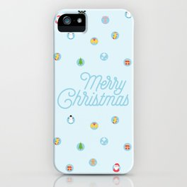 Christmas Spirits iPhone Case