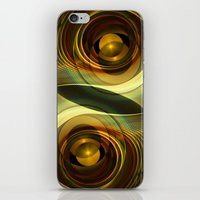 infinity iPhone & iPod Skins featuring Infinity by Klara Acel
