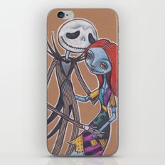 Jack and Sally iPhone & iPod Skin