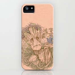 Groot Fan Art iPhone Case