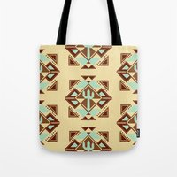 southwest Tote Bags featuring Southwest by S. Vaeth
