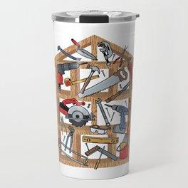Home Construction Travel Mug