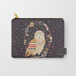 Snowy Owl Carry-All Pouch