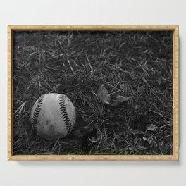 Baseball Serving Tray