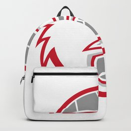 European Handball Eagle Mascot Backpack