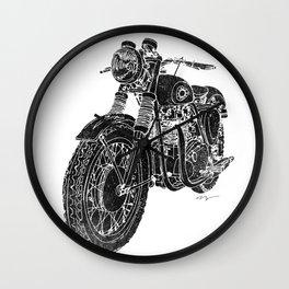 Vintage BSA Super Rocket Motorcycle Wall Clock