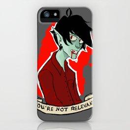 Marshmallow Lee, that vampire dude. iPhone Case