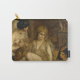 """Auguste Renoir """"Parisiennes in Algerian Costume or Harem"""" Carry-All Pouch"""