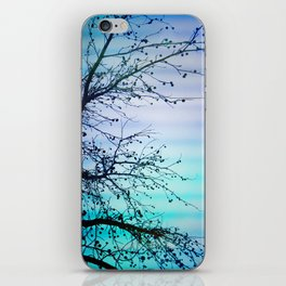 tree of wishes iPhone Skin