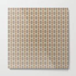 Tribal Mini Pattern Metal Print