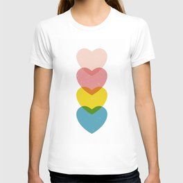 Hearts of four T-shirt