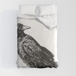 Perched Crow Comforters