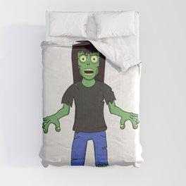 Zombie Girl - Brown Hair Comforters