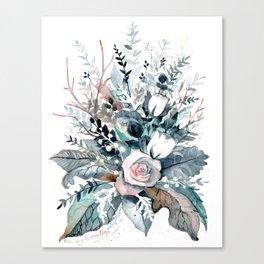 Frostflowers Canvas Print