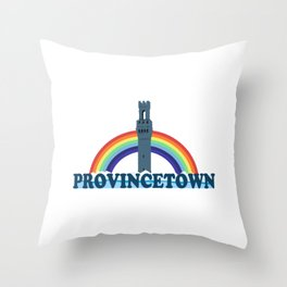 Provincetown - Cape Cod. Throw Pillow