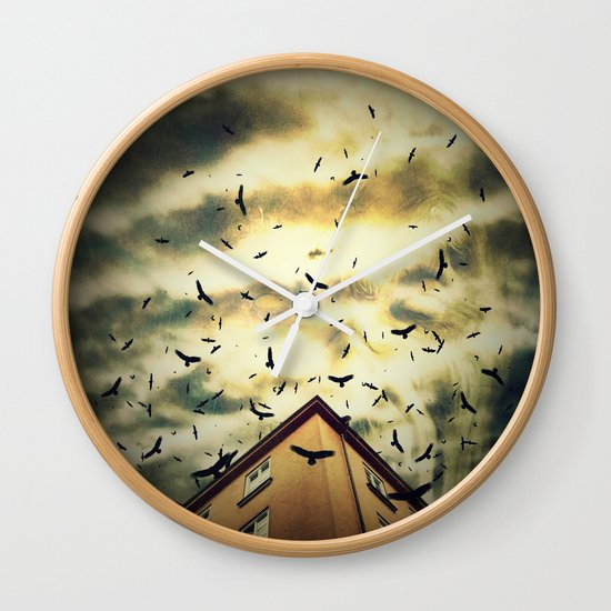 Somebody is watching you Wall Clock