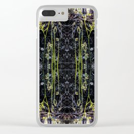 Fiddle heads Clear iPhone Case