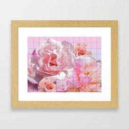 Garden Grid Framed Art Print