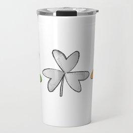 Shamrock Irish St Patricks Day Travel Mug
