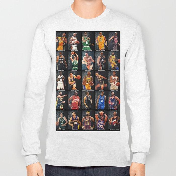 Basketball Legends Long Sleeve T-shirt