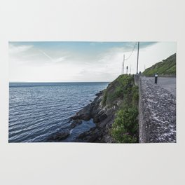 Along the sea in Ireland Rug