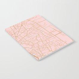Vientiane map, Laos Notebook
