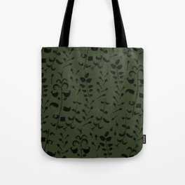 Mint and Chive Tote Bag
